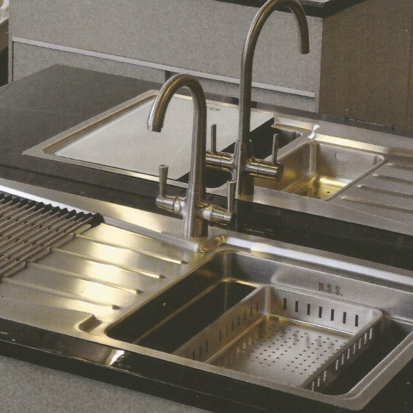 Quality 1.2mm Thick Stainless Steel Sink