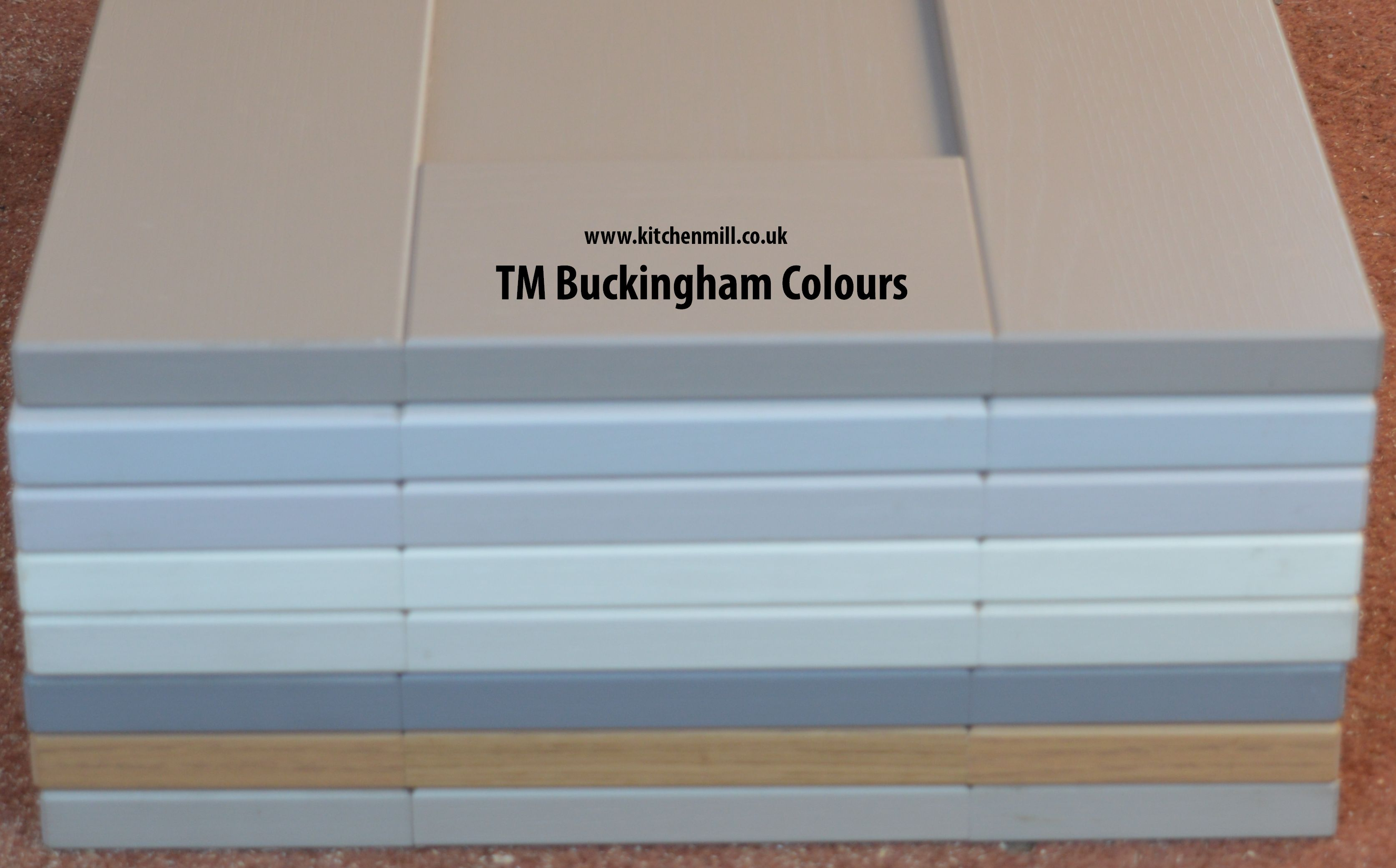 TM Buckingham 5-piece Shaker Door – PVC wrapped | Kitchen Mill