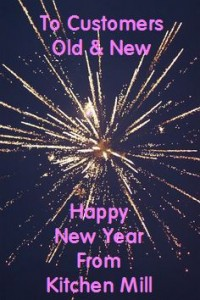 Happy New Year from Kitchen Mill, Grimsby